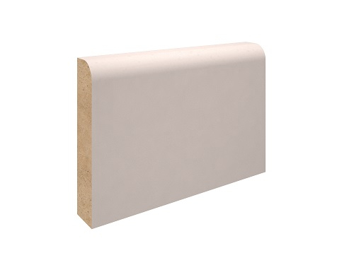 69mm x 15mm MDF Round One Edge Architrave