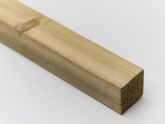 50mm x 47mm Green Treated Timber