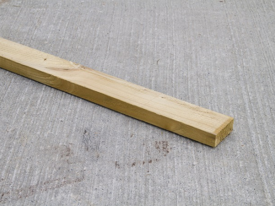 100mm x 38mm Green Treated Timber