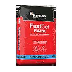 Fast Set Post Fix Poly Bag 20kg
