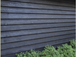 Black Double Painted Feather Edge Board