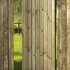 Babington Framed Ledged And Braced Featheredge Gate 1760x900mm