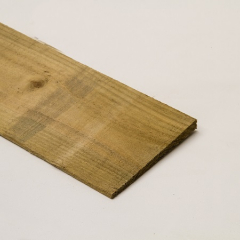 150mm x 22mm Green Feather Edge Board