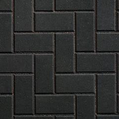 Plas 50 Block Paving Charcoal