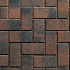 Plas 50 Block Paving Rustic Gold
