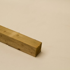 75mm x 75mm Green Treated Fence Post
