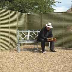 Venetian Fence Panel 1800mm x 1800mm