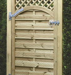 Arched Lattice Top Gate 1800mm x 900mm