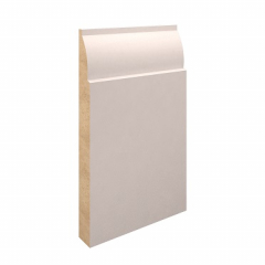 169mm x 18mm MDF Lambstongue Skirting