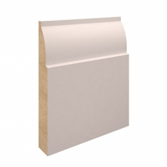 119mm x 18mm MDF Lambstongue Skirting