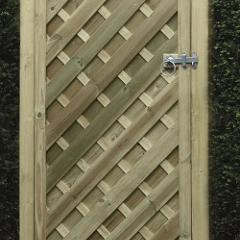V Arched Gate 1800 x 900