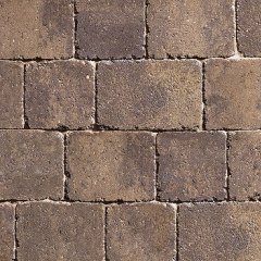 Pack of Plaspave Sorrento 60mm Peak stone 7.35m2
