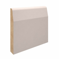 95mm x 15mm MDF Chamfered Skirting
