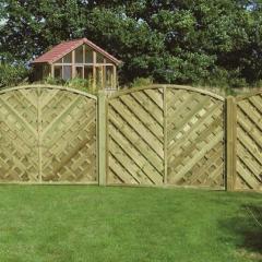 York Fence Panel